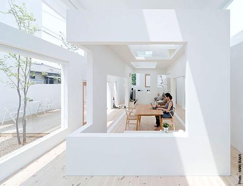 La maison nuage simplementbeau - Architecte japonais ...
